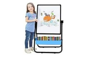 Arkmiido Kids Drawing Black and White Board