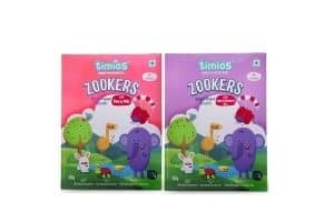 TimiosZookers Mix Flavours for 12+ Months Babies