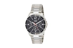 Casio Enticer Black Dial Men's Watch