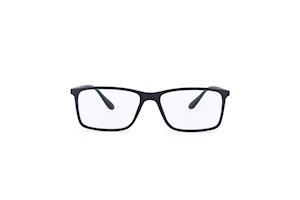 Intellilens Square Unisex Blue Cut Spectacles