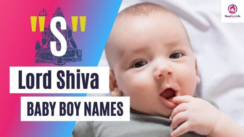 21 Iconic Lord Shiva Names for Baby Boy Starting with S