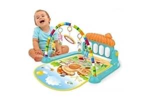 Techhark Kick and Play Multi-Function ABS High Grade Plastic Piano Baby Gym