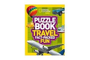 National Geographic Kids Puzzle Book Travel