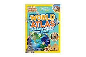 National Geographic Kids World Atlas Sticker Activity Book
