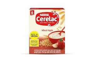 CERELAC Baby Cereal with Milk, Wheat Apple