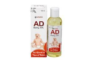 Afflatus Ayurvedic AD Vitamin Baby Massage Oil