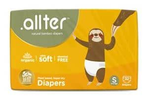 Allter Organic Bamboo Super Dry; Quick Absorb and Eco-Friendly Diaper